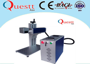 China Portable Laser Marking Machine For Bangle , Air Cooling Desktop Engraving Machine supplier