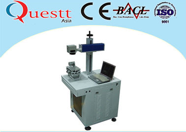 China Stainless Steel Iron Fiber Laser Etching Machine For Metal 10W Air-Cooling supplier