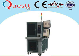 China 3 / 8 / 15W Automatic Laser Marking Machine Stability With Sealed Optical System supplier
