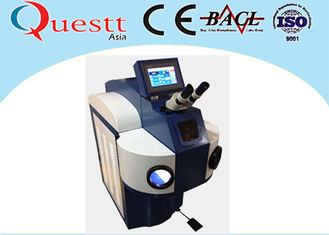 China High Corrosion Bearing Jewelry Laser Welding Machine 300W With LED Lamp Microscope supplier