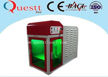 China High Precision Mini Laser Engraving Machine , Desktop Engraving Machine With PC Control supplier