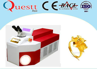 China 75W Portable Welding Equipment For Metal , 1064nm Desktop Micro Laser Soldering System supplier