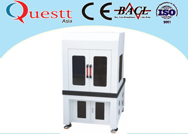 China Low Cost Industrial Laser Marking Machines , 355nm Wavelength Desktop Laser Marker supplier