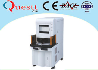 China 7000mm / S Laser Beam UV Laser Marking Machine 0.01 - 0.2mm Depth For Digital Product supplier