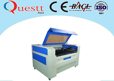 China 0.05mm Line Width CO2 Laser Engraving Machine 100W For Denim Leather Water Cooling supplier
