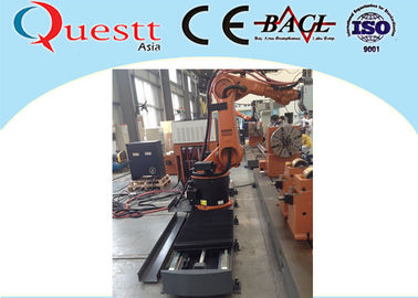 China 3KW Fiber Metal Laser Cladding Machine Automatic Welding Machine With Robotic Arm supplier