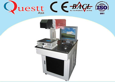 China 10W CO2 Laser Marking Machine For Plastic Leather Fabric With Air Cooled supplier