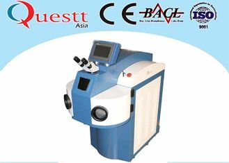 China Silver Laser Soldering Equipment 300 Watts , YAG Laser Electron Beam Welding Machine supplier