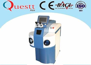 China Non Pollution Laser Welding Jewelry Machine , 400 Watt YAG Laser Spot Soldering Machine supplier
