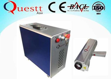 China 50 W Portable Gun Laser Rust Removal Machine/Laser cleaning machine 100mm Beam Width supplier