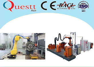 China 3KW Metal Cladding Machine Quenching Hardening For Roller Mould Shaft supplier