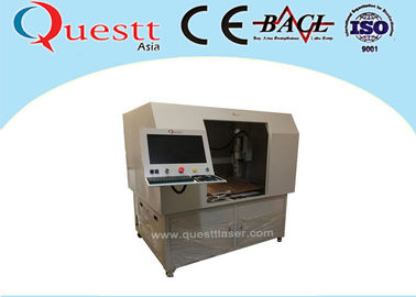 China Deep 50W CNC Auto 3 Axis Laser Marking Engraving Machine With Big Table Customized Jig supplier