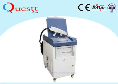 China Air Cooled Laser Rust Removal Machine , 50w 100w Laser Cleaning Machine supplier