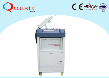 China Lightweight Laser Cleaning Machine With Robotic Arm , Automation Portable Rust Removal supplier