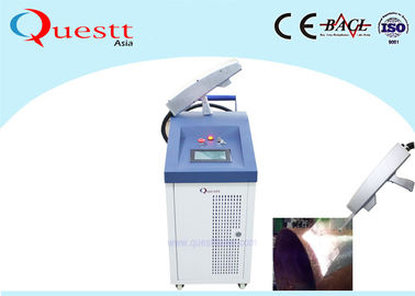 China IPG Fiber Laser Cleaning Machine 100 Watt Laser Rust Removal Machine supplier