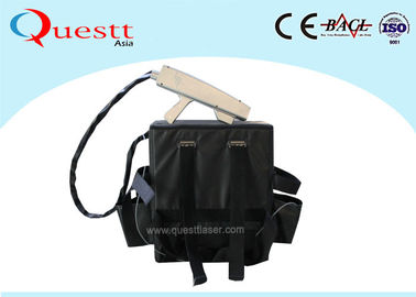 China Backpack Laser Rust Removal Machine For Outdoor Cleaning Graffiti Handheld supplier