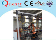 China Water Cooling YAG Laser Cladding Machine Laser Quenching With Rotate Table company