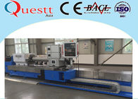 Double Head Industrial Laser Machine , Low Cost Texturing Laser CNC Machine