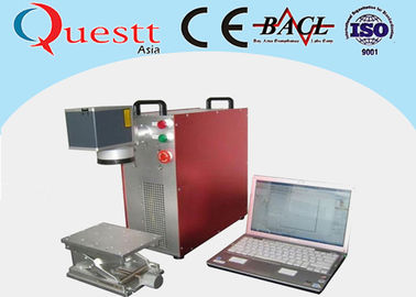 China Red Fiber Laser Marking Machine Maintenance Free With 1064nm Laser Wavelength factory