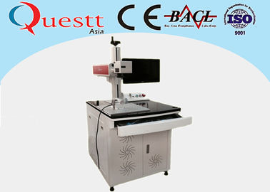 China 20W Fiber Laser Marking Machine For SS factory