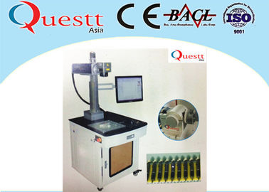 China 30W Fiber Laser Marking Machine PC Computer Control For Metal Silver Bangle Bracelet factory