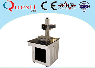 China Laser Marking Medical Devices 30W , Air Cooled Laser Marking Machine For Metal factory