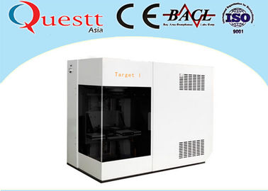Air Cooling 3D Crystal Laser Engraving Machine 3W For Portrait Production