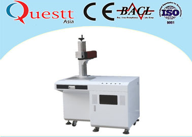 3W Plastic Laser Marking Machine , Air Cooling Industrial Marking Machine For Auto Parts