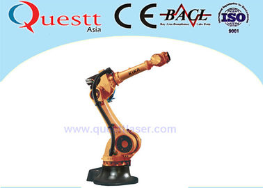 China 50kg Wrist Payload Industrial Robotic Arm 3400mm , 6 Axis Industrial Welding Robots factory