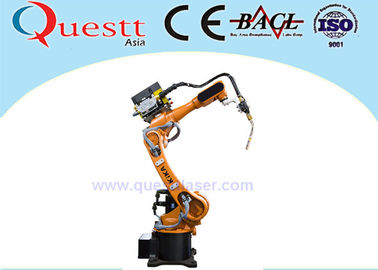 China 6 Axis Industrial Robotics Automation , Arc Welding Robot 6kg Wrist Payload factory