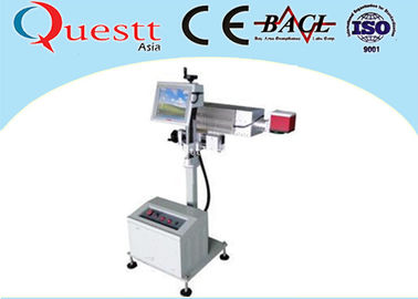 China 20 Watt Automatically Fiber Laser Marking Machine With 1064nm Wave Length , 20-100kHz factory