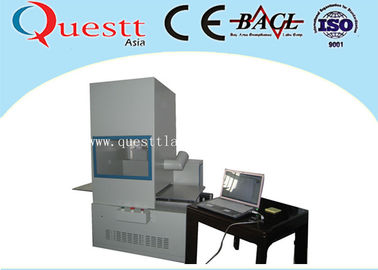 China High Precision Desktop Engraving Machine / Fiber Laser Etching Machine Customized factory