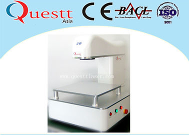 China Portable Optical Desktop Laser Marking Machine With 20W Lens Scanner , CE Certificate factory