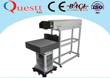China 20W CO2 Laser Marking System , RF Metal Tube Table Top Laser Etching Machine factory