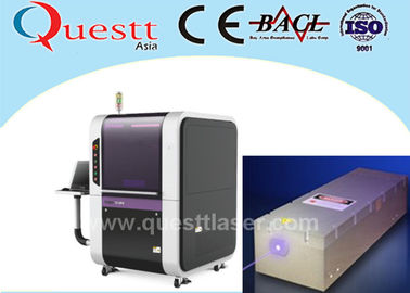 CNC Laser Cutter 300W For Precise Products , CNC Glass Cutting Machine 500x500mm