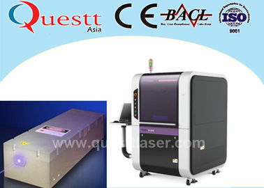 China Copper Plastic Glass Acrlic Printing Precision Laser Cutting Machine 10W factory