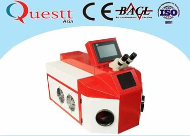 China Maintenance - Free Jewelry Laser Welding Machine 150W 80J 10X Microscope factory