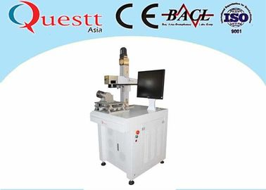 China Jewelry Desktop Small Fiber Laser Marking Machine With Highly Precision factory