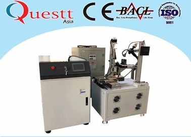5 Axis Auto Laser Welding Equipment Metal Fiber Welding Machine CNC Control CCD Display