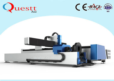 China 500W Metal Laser Cutter , Pipe Laser Cutting Machine For Sheet / Round Square Pipe factory