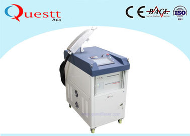 China FDA Laser Cleaning Machine With Robot , Automatic Laser Rust Removal Equipment For Metal factory