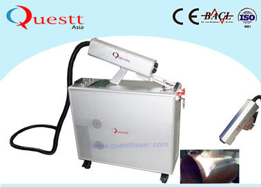 China Mopa Fiber 100W Laser Cleaning Machine For Rust Removal Metalic Surfacel factory