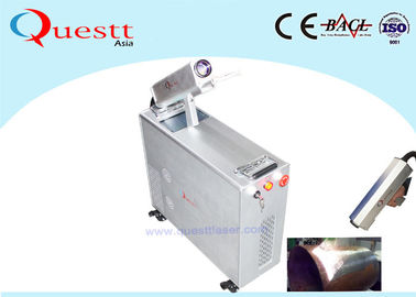 China Fast Rust Remover Machine 100W Laser Cleaning Paint / Coating / Wood / Stone factory