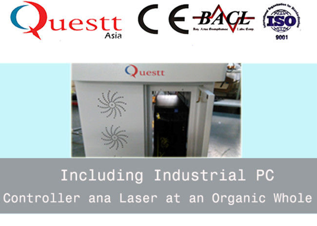 Metal Laser Marking Machine 20W Imported Scanner Rotary Device