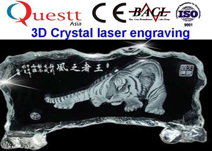 Small Size Angle 3D Crystal Laser Engraving Machine