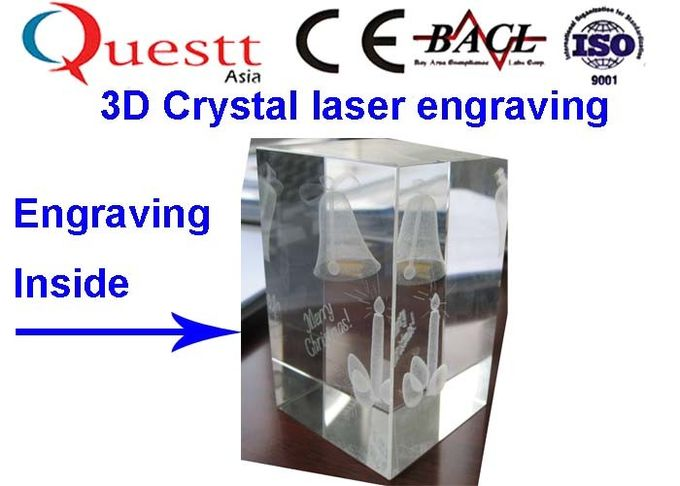 High Speed 3D Crystal Laser Engraving Machine With High Quality Laser Beam