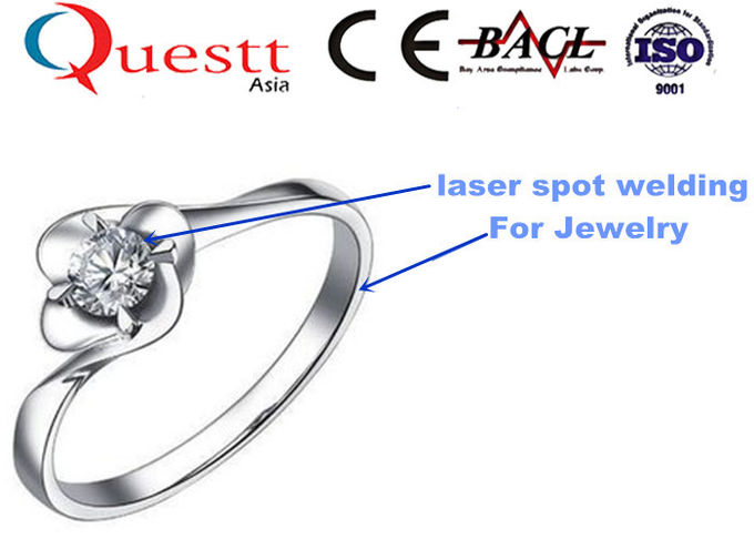 Durable Jewelry Laser Welding Machine 1.064um 300W With Free Water Chiller