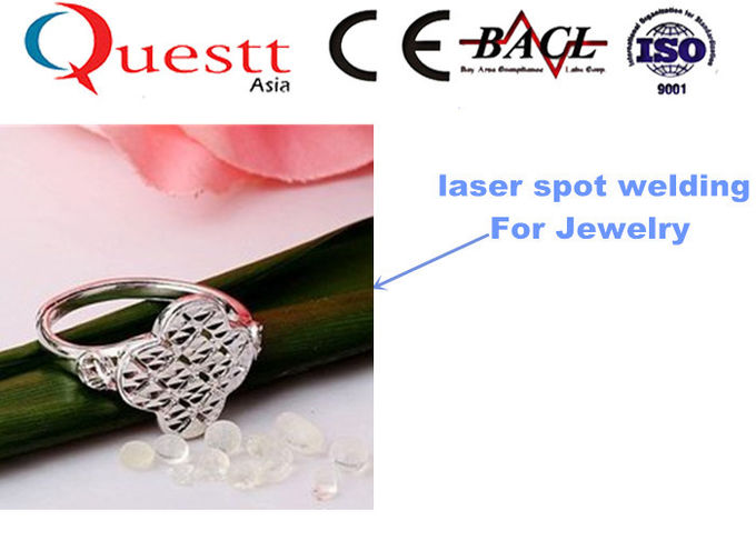 Non Pollution Laser Welding Jewelry Machine , 400 Watt YAG Laser Spot Soldering Machine
