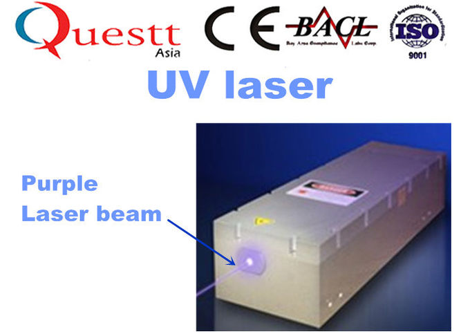 Portable Laser Etching Machine 5W Purple Laser Beam With Laser Cavity Adjustable