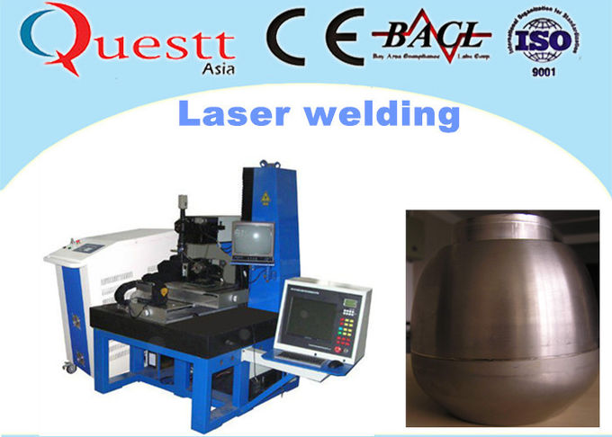 CNC Laser Welding Machine For Platinum Gold , YAG Automatic Soldering Machine